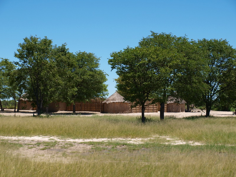 The polers village, Okavango Delta