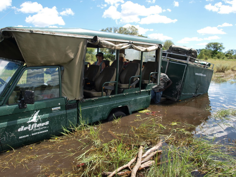 Stuck for the second time in the Okavango Delta