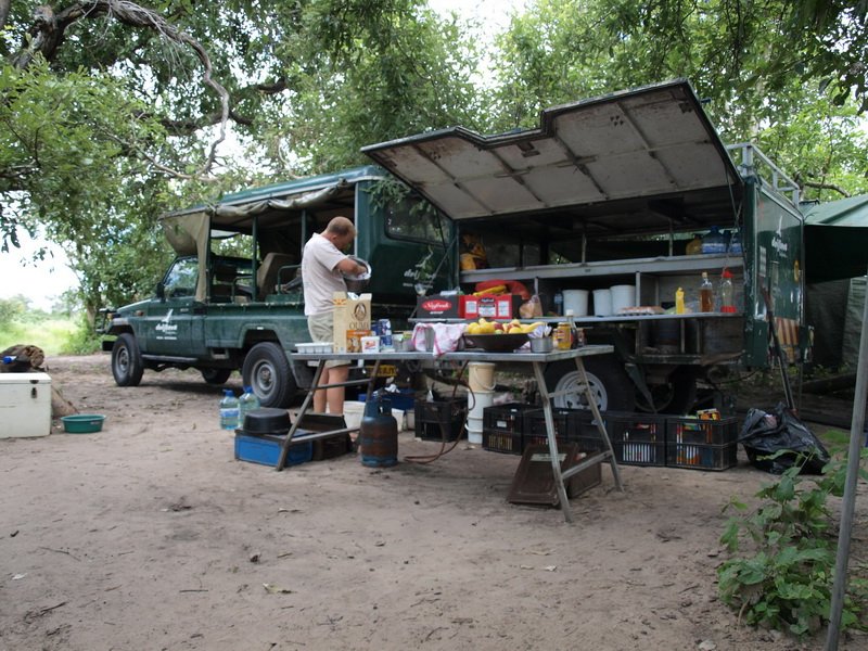 Our camp, Okavango Delta