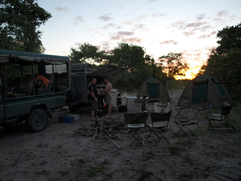 Our camp, Savuti