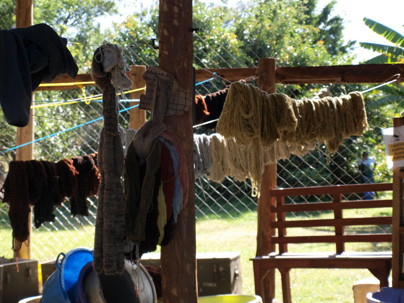 Dying wool, Nakuru