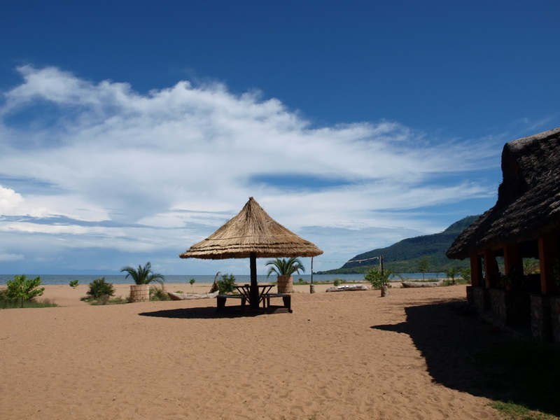 Our camp Chitimba, Lake Malawi