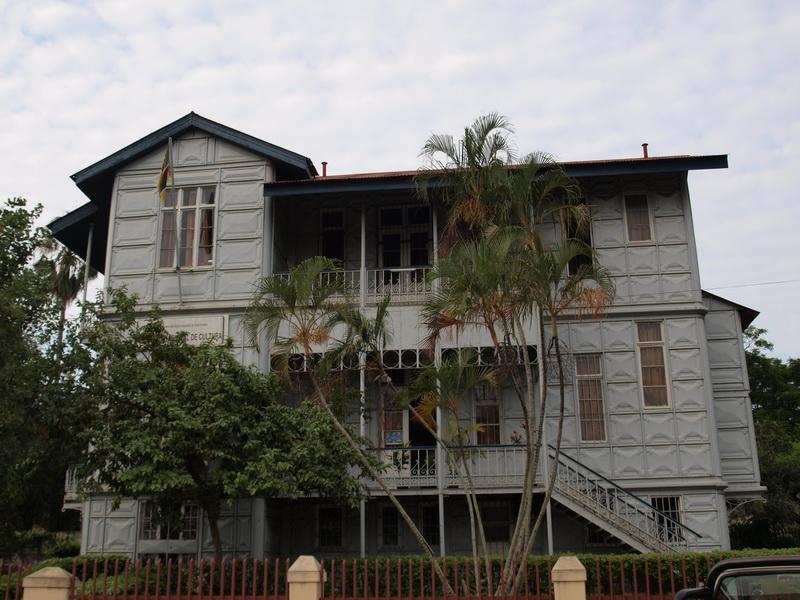 Iron house, Maputo