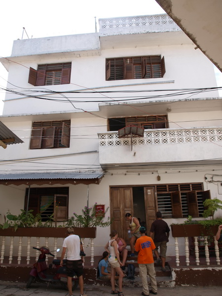 Our hotel, Stonetown, Zanzibar