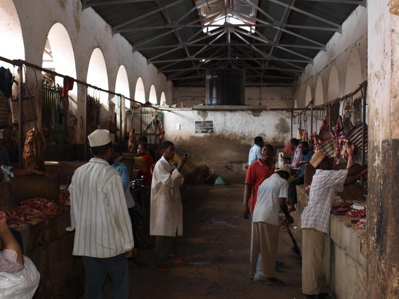 Meat market, Stonetown, Zanzibar