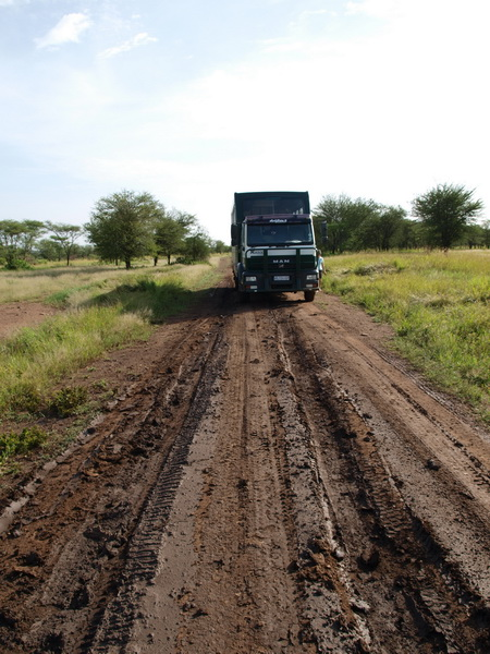Bogged again! Serengeti