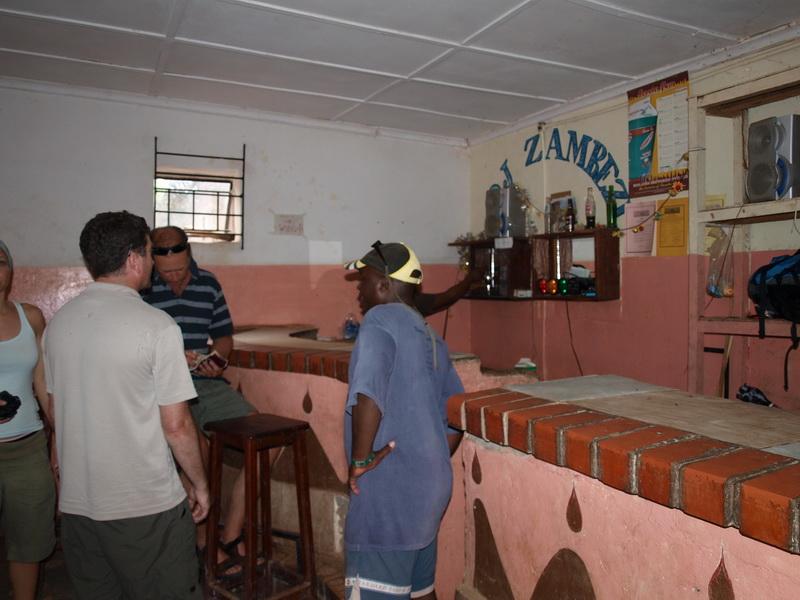 The pub, Chris\' Village, Kapululira