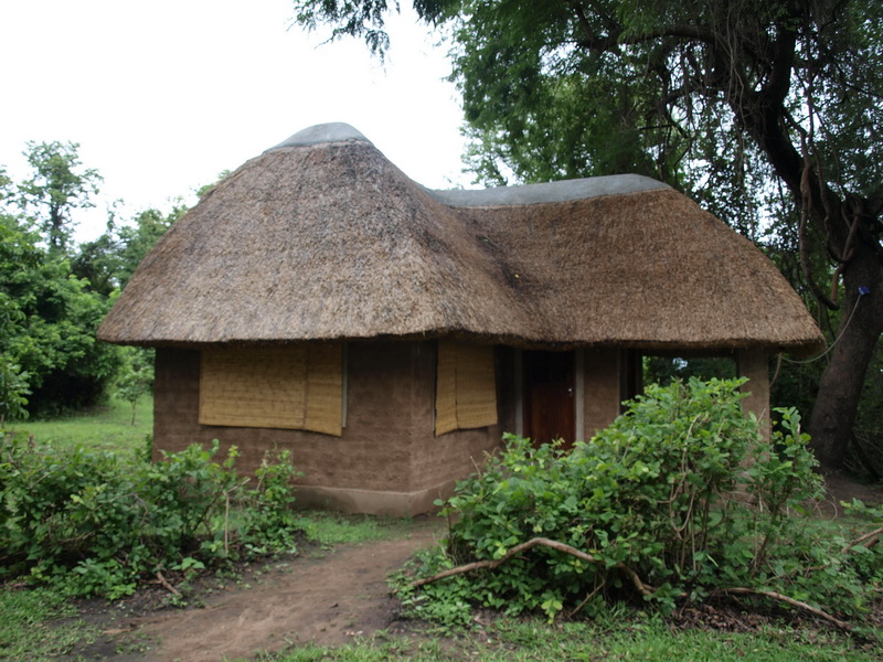 Our chalet, South Luangwa National Park