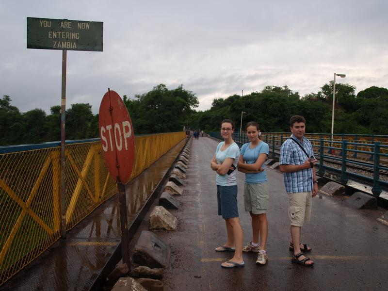 Victoria Falls Bridge on the way to Zambia