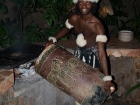 Warming the drum skin