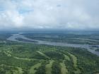 Flight over Victoria Falls