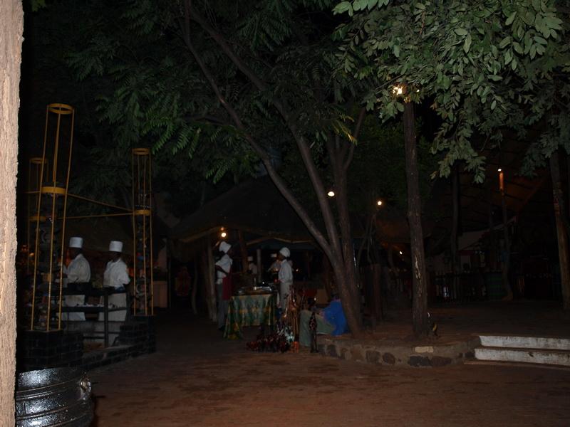 Boma Restaurant, Victoria Falls
