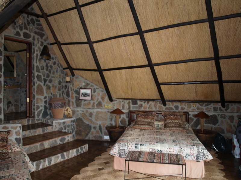 Our room, Big Cave, Bulawayo