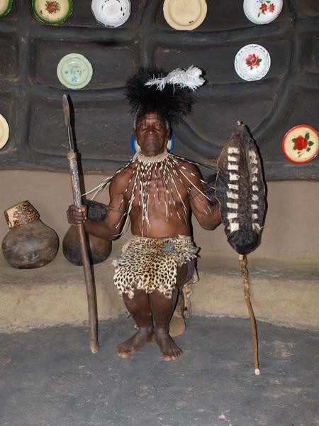 Village visit, Matobo