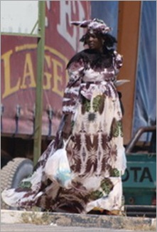 Herero woman, Opuwo