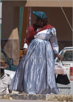 Herero woman, Opuwo