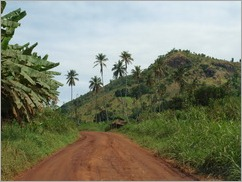 The road from Morogoro to Selous Game Reserve