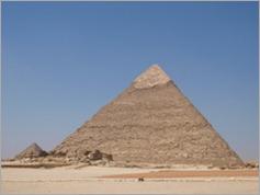 The second pyramid (Khafre's), Giza