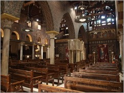 The Hanging Church, Old Town, Cairo