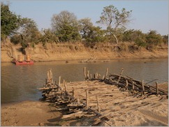 Pontoon, North Luangwa National Park