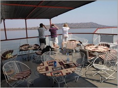 Ferry trip Lake Kariba